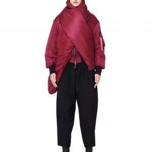 Balenciaga Nylon Bomber Jacket