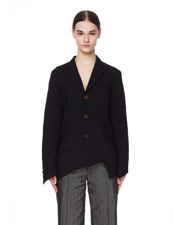 Comme des Garcons CdG Black Asymmetric Jacket