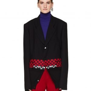 Haider Ackermann Embroidered Wool Jacket