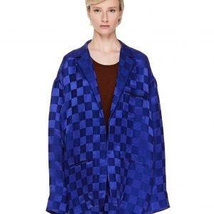 Haider Ackermann Jacquard Linen & Silk Jacket