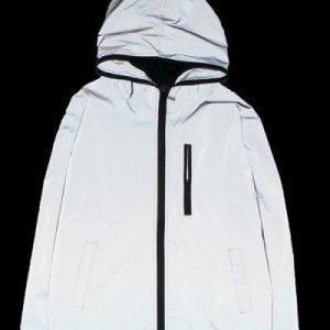Luminous Design Zip Up Jacket