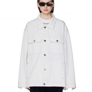 Maison Margiela White Denim Jacket