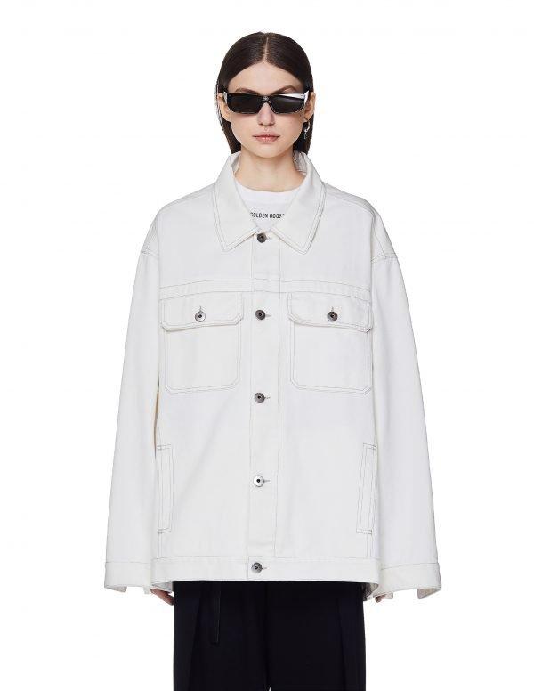 Maison Margiela White Denim Jacket