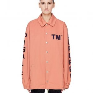 Pigalle Pink Cotton TM Coach Jacket