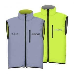 Proviz Switch Men's Cycling Gilet – Yellow / Reflective