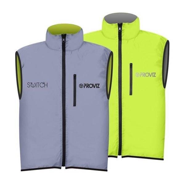 Proviz Switch Men's Cycling Gilet - Yellow / Reflective