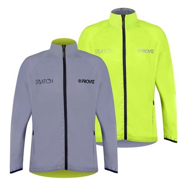 Proviz Switch Men's Cycling Jacket - Yellow / Reflective