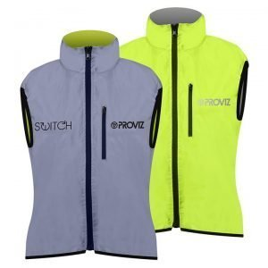 Proviz Switch Women's Cycling Gilet – Yellow / Reflective