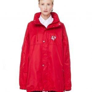 Vetements Red Anarchy Windbreaker Jacket