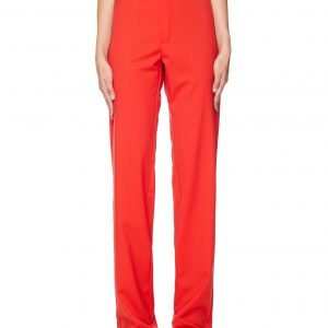 Vetements Red Wool Trousers