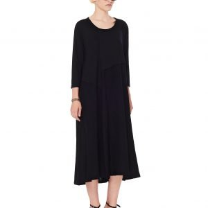Y's Black Wool Dress