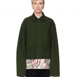 Haider Ackermann Cotton Jacquard Jacket