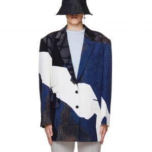 Maison Margiela Wool Printed Jacket