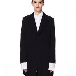 Yohji Yamamoto Black Wool Jacket