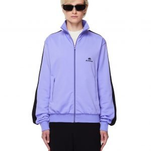 Balenciaga Purple Logo Track Jacket