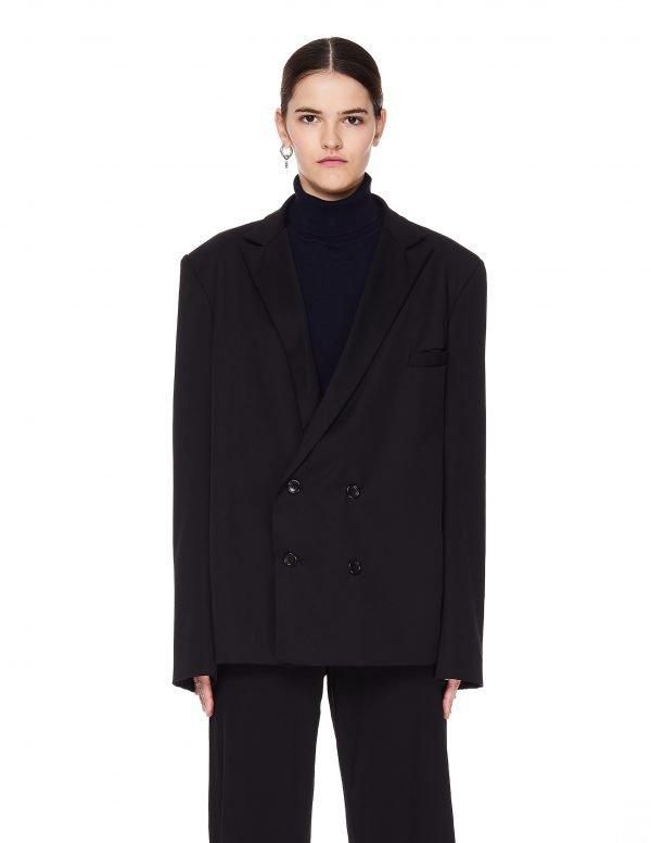 Enfants Riches Deprimes Black Wool Jacket